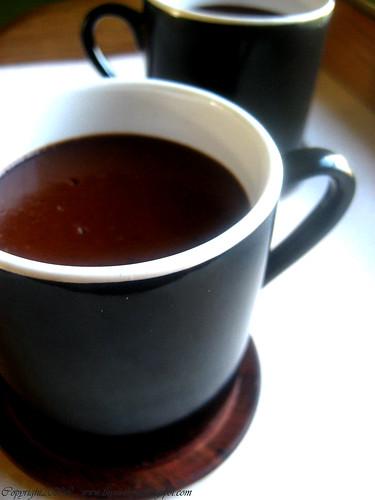 Coconut and Chocolat Pots de Creme