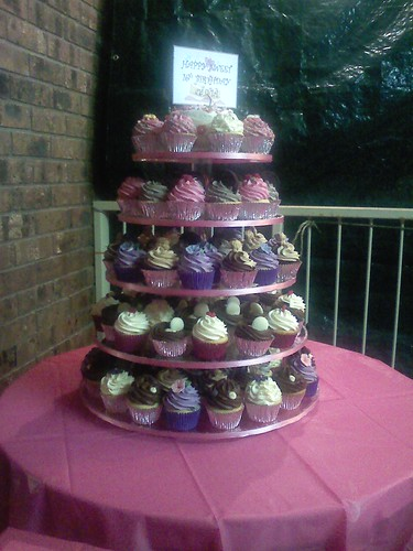 16th Birthday Party Cakes. Sweet 16th birthday cupcakes