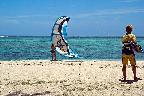 Kitesurfing por catcoli.