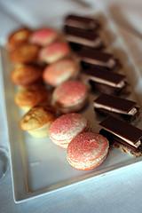 pastries (David Lebovitz) Tags: paris france tower restaurant eiffel jules alain verne ducasse