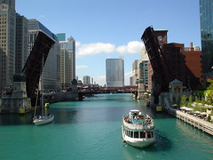 Chicago River (doug.siefken) Tags: city urban chicago art painting geotagged moving flickr downtown foto image doug favorites images r fotos getty douglas streeterville chicagoan siefken dougsiefken