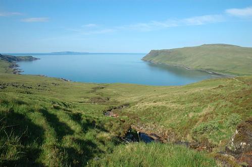 Loch Brittle becalmed