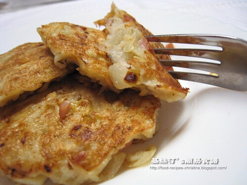 西式香煎薯仔餅 Fried Potato Cakes
