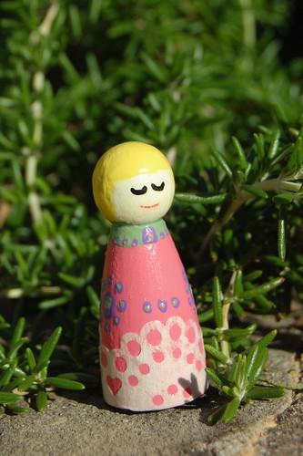 Kokeshi dolls~ Poppy