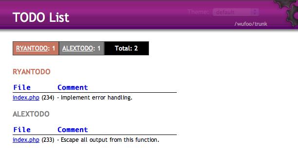 Textmate TODO