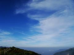 藍天、美景