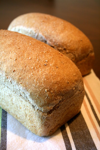 Whole Wheat Sesame Breads 005