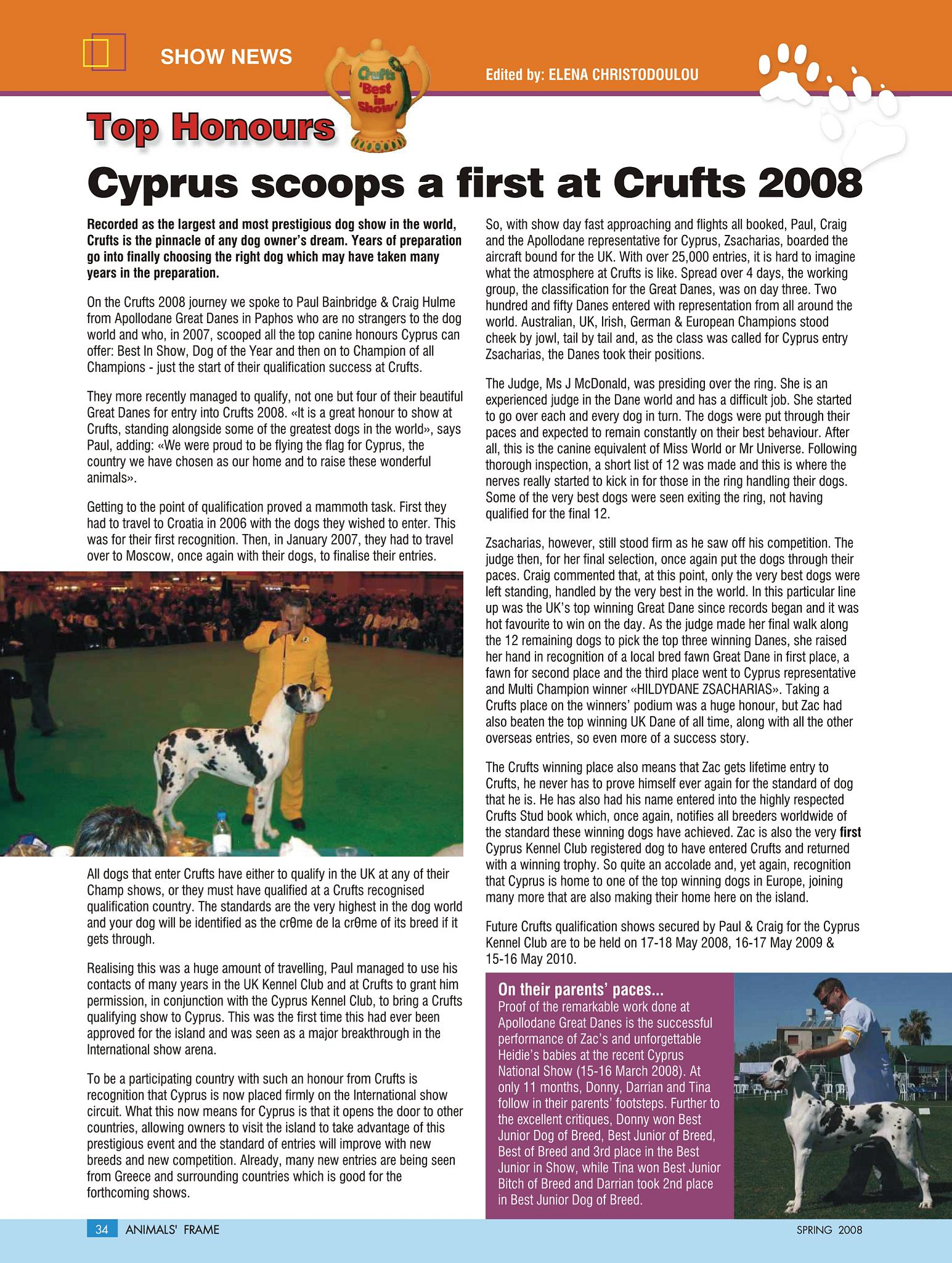 veterinary magazine articles