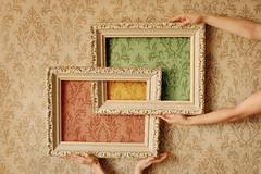 Squares, Swirls and Paper Play (.Bradi.) Tags: red wallpaper green colors yellow design three hands squares experiment frame swirls cwd cwd761 forthesquaresassignment cwd76 iknowimgettinglazy wheniopeneditthismorninginoticedabunchofthingsiwouldhavechangedbutireallydidntfeellikestartingfromscratchagain