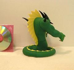 Namuk Dragon right rear view (wilbura59) Tags: dragonball dragonballz dragonballgt