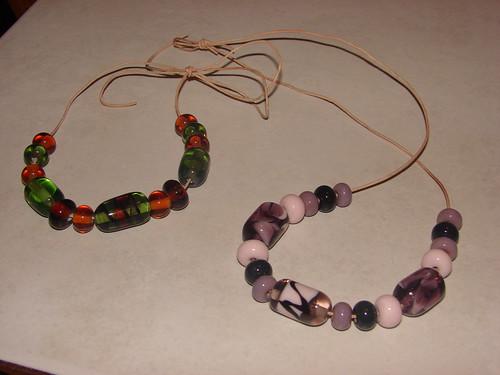 Lampwork bead sets