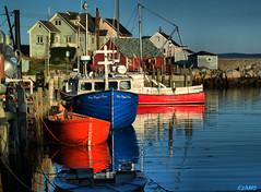 Peggy's Cove, Nova Scotia (kenmojr) Tags: ocean sea canada coast marine novascotia village atlantic coastal halifax peggyscove maritimes