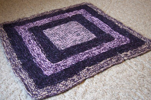 mitered afghan block