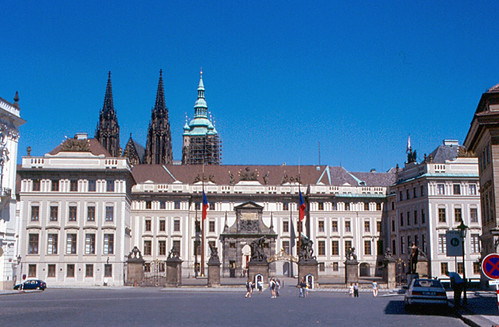 Prague - Castle Entrance