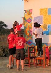 IMG_1434 (LearnServe International) Tags: travel school painting education mural gaby gabe international margaret learning service zambia malambo cie bysara luria monze learnserve lsz08 malambobasicschool lsiweb