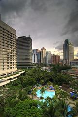 Oasis in the City (Andrew San Juan) Tags: hotel shangrila oasis manila edsa