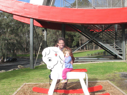 Big and little Rocking Horse Gumeracha