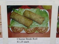 Cheese Steak Rolls, Philadelphia, PA