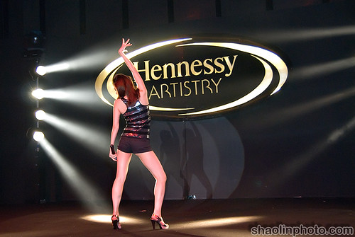 Melody Yeung of Machi at Hennessy Artistry
