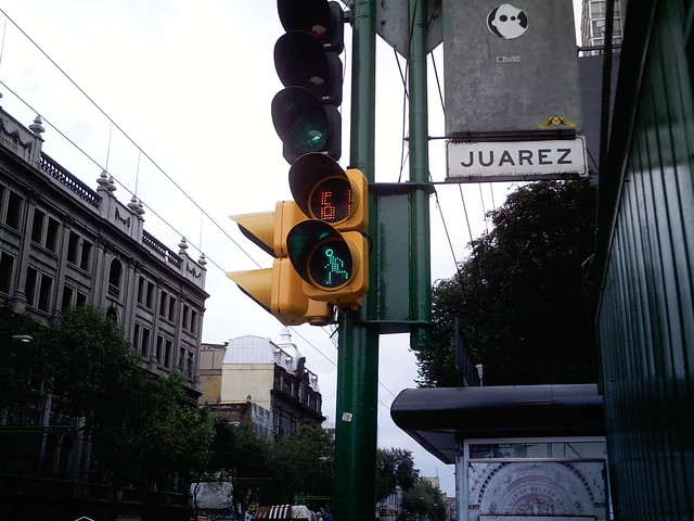 Crosswalk traffic light