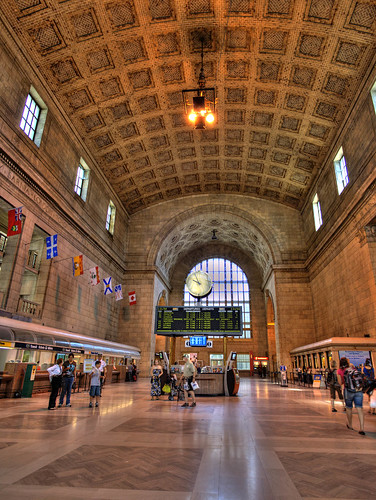 Union Station in Toronto.
