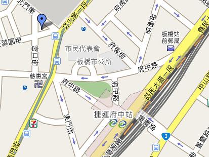 生炒魷魚地圖 (by tenz1225)
