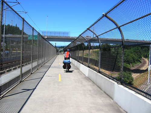 I-205 bike path overpass