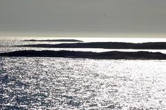 silver sea (montel7) Tags: sea norway silver grey mare grigio controluce islets argento isolette