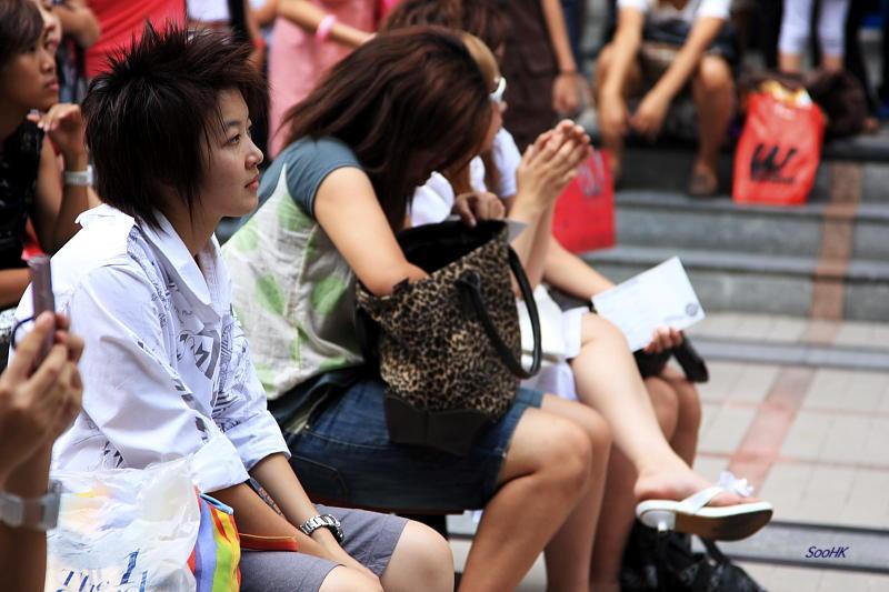 Spectator of Nippon Fever Fest @ Bangkok
