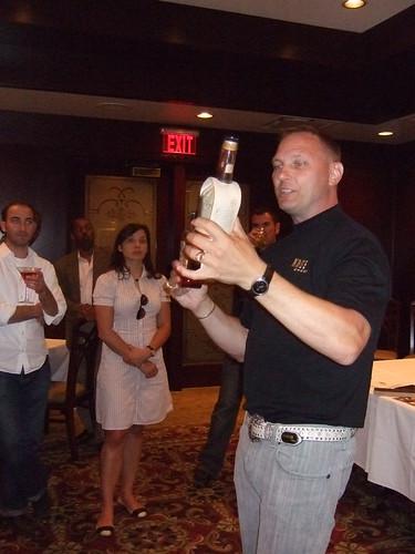Bourbon tasting @ Morton's 026