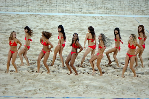 沙排宝贝,beach Volleyball girls