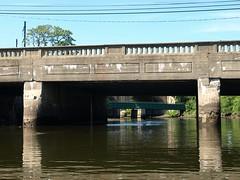 Monroe Street Bridge over Rahway River, New Jersey (jag9889) Tags: street bridge river puente newjersey cros