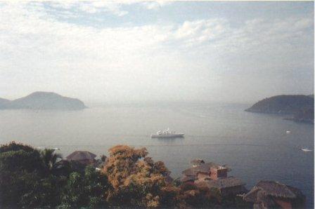 Partenon de Durazo: vista al mar