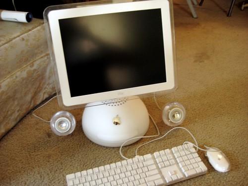 iMac G4.