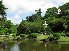 Japanese style garden / () (TANAKA Juuyoh ()) Tags: tree green garden japanese high style hires  hi lantern  res     g7