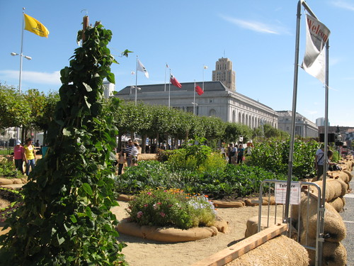 Victory Garden at the Civic Center