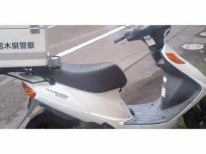栃木県警のオートバイ