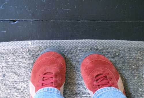 I wore my red shoes