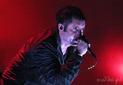 NIN 2 (red.dirt.girl) Tags: show red music concert inch rocks tour nin nine nails reznor trent 2008 lightsinthesky