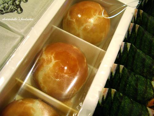 台中日出蛋黃酥包裝