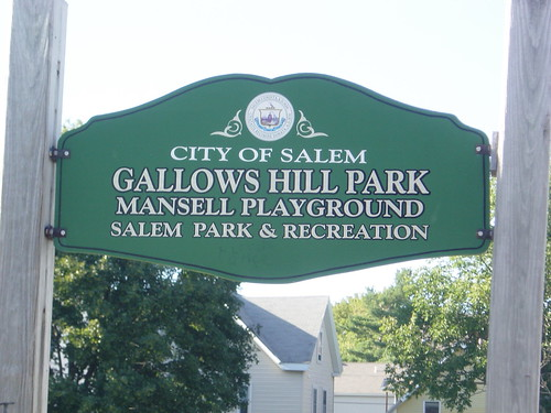 Gallows Hill Park Sign