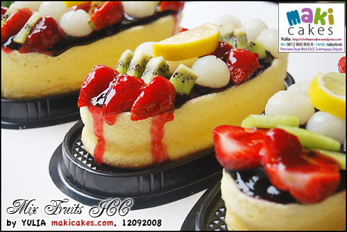 Mix Fruits JCC - Maki Cakes