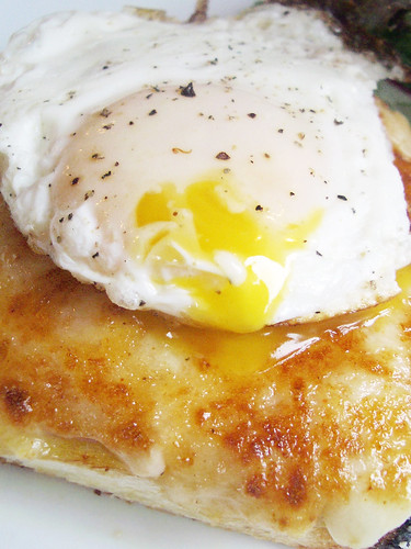 croque madame @ jacques