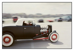 Hot Rod Panning (hannes.trapp) Tags: auto hot film car analog munich mnchen fuji 200 hotrod rod oldtimer asa 500 agfa panning sensor optima roughstyle imm01311a3
