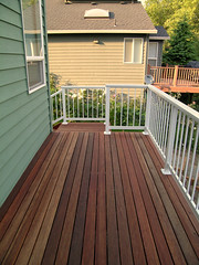 Our new back deck