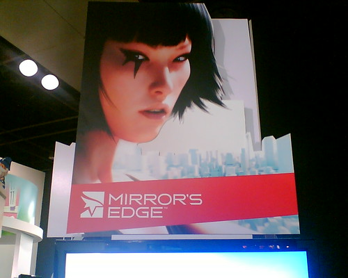 Mirror's Edge Booth at GCA 2008