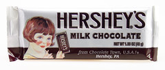 Hershey's Milk Chocolate (retro wrapper) - now with PGPR!