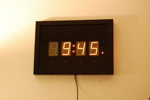 Panaplex Clock - Completed