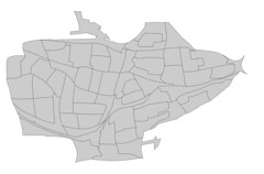 Binghamton Block Group Cartogram