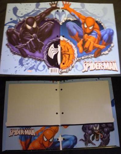 Spider-Man folder 2008 #4